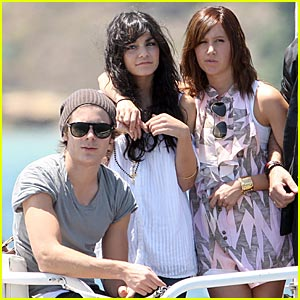 Zac Efron is Water Taxi Tough