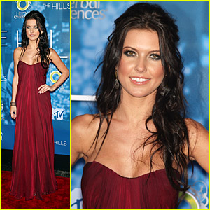 Audrina Patridge Hits Up The Hills