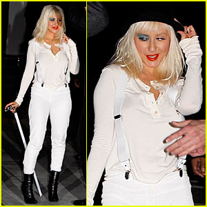 Christina Aguilera is Clockwork Orange