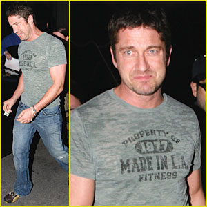 Gerard Butler is 'Made in L.A.'