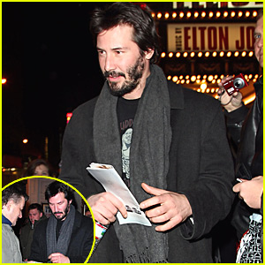 Keanu Reeves Gives His Regards on Broadway