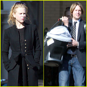 Nicole Kidman Attends Christmas Morning Mass
