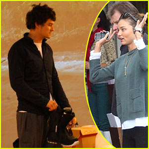 Orlando Bloom & Miranda Kerr: Snowboarding Shoppers!