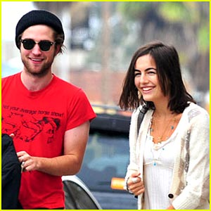 Robert Pattinson & Camilla Belle: Bakery Buddies!