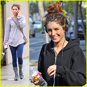 Shenae Grimes is a Gym Rat
