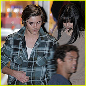 Zac Efron & Vanessa Hudgens Hit Up Barney's