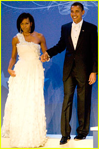 The Obamas Dance the Night Away