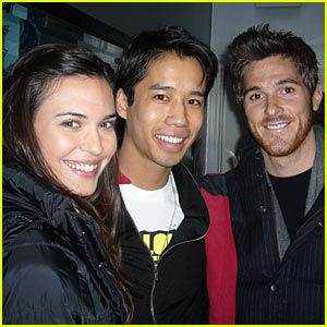 Dave Annable & Odette Yustman Couple Up