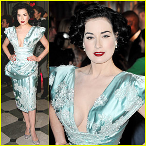 Dita Von Teese is Fashionably Fierce