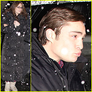 Ed Westwick's Winter Wonderland
