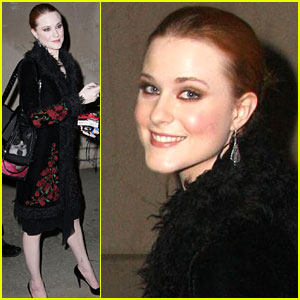 Evan Rachel Wood Gets Quite Catty