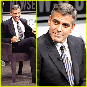 George Clooney Discusses Good Night, and Good Luck