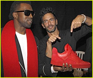 Kanye West Debuts More Louis Vuitton Shoes