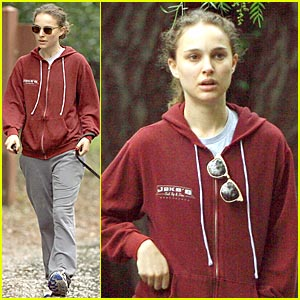 Natalie Portman Attends Inauguration Party