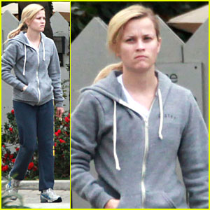 Reese Witherspoon Gets Grey Glum