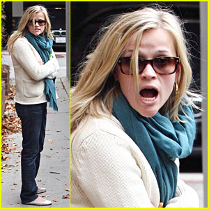 Reese Witherspoon Gets Simply Shocked