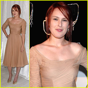 Rumer Willis Digs Diamonds