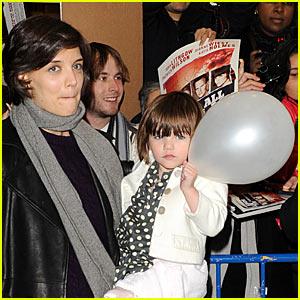 Suri Cruise is a Balloon Baby