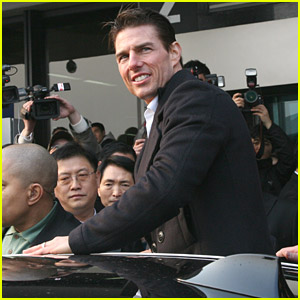 Tom Cruise is a Superhero in Seoul