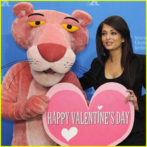 Aishwarya Rai Hearts Pink Panther