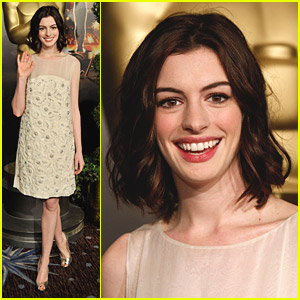 Anne Hathaway's Date To The Oscars