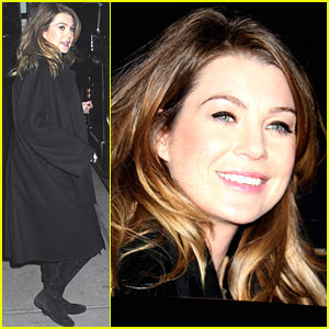 Ellen Pompeo Has a Late Night