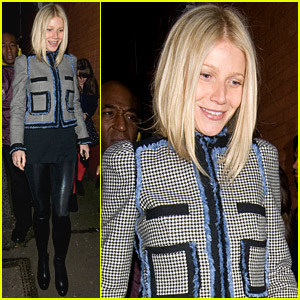 Gwyneth Paltrow Catches Coldplay