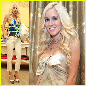 Heidi Montag Is Excited About Elyse Walker