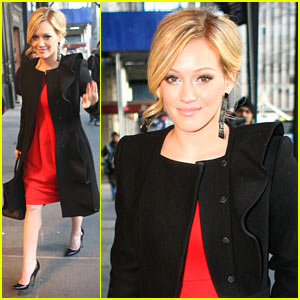 Hilary Duff Loves Fall Fashion