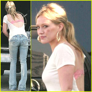 Hilary Duff Launches Femme for DKNY Jeans