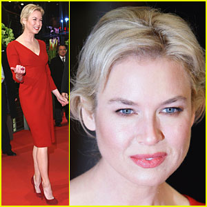 Renee Zellweger Rocks Red