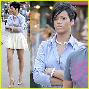 Rihanna: The Grove Girl