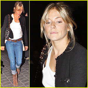 Sienna Miller Goes Out For The Oscars