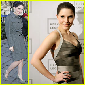 Sophia Bush: Herve Leger Luscious