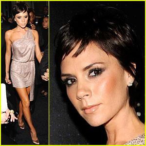 Victoria Beckham Gets Armani Asymmetrical