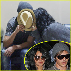 Zac Efron & Vanessa Hudgens: Back From Brazil