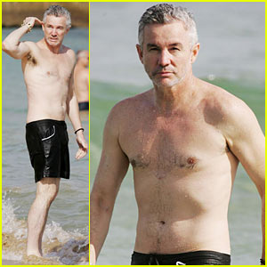 Baz Luhrmann is Shirtless