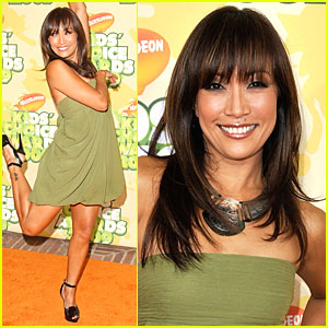 Carrie Anna Inaba - 2009 Kids' Choice Awards