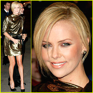 Charlize Theron is Not Plain Jane