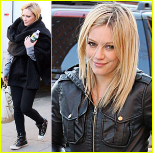 Hilary Duff Wraps Up Filming