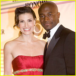 Idina Menzel & Taye Diggs: We're Expecting!