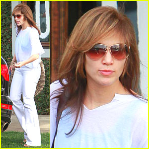Jennifer Lopez Sports New 'Do