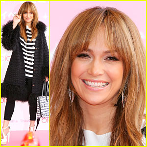 Jennifer Lopez Supports Samantha Thavasa