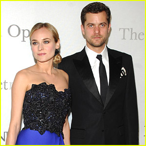 Joshua Jackson & Diane Kruger Meet At The Met