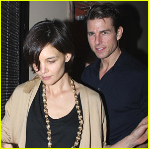 Katie Holmes' Delicious Dinner Date