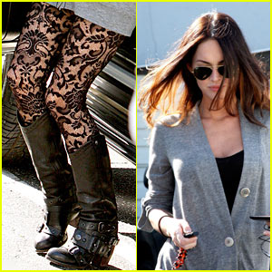 Megan Fox is Leggings Lovely