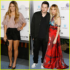 Nicole Richie & Joel Madden: Psyched For UNICEF