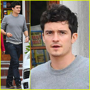 Orlando Bloom is all Thai-ed Up