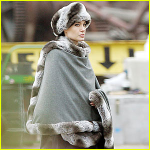 Angelina Jolie is Poncho Pretty
