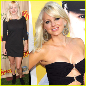 Anna Faris is Premiere Pretty